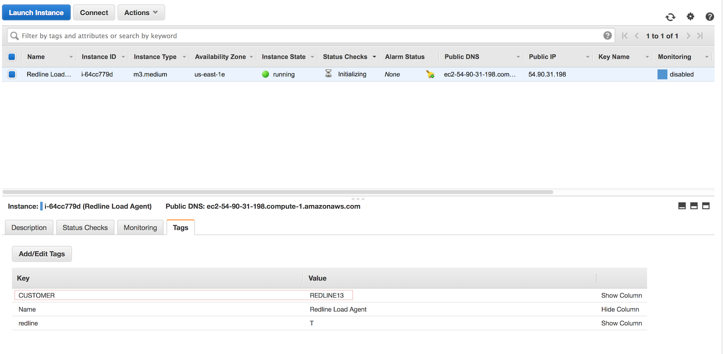 EC2 instance start on Virginia AWS region