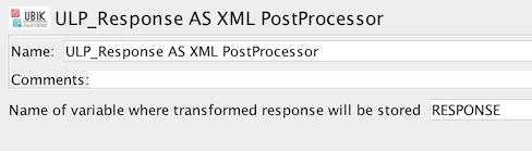 ULP JAVA to XML