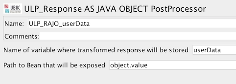 ULP Java as Object
