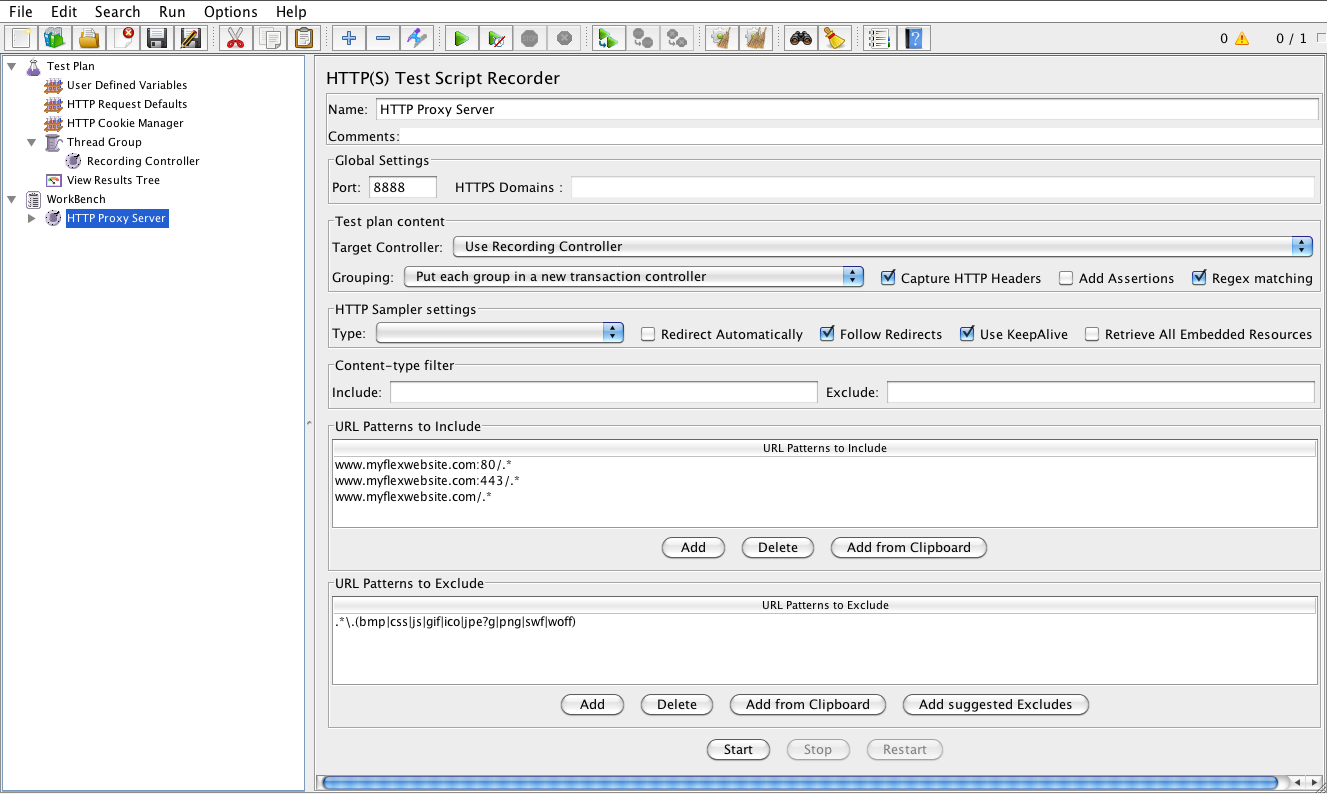 Load Testing Apache and Adobe Flex with JMeter made easy