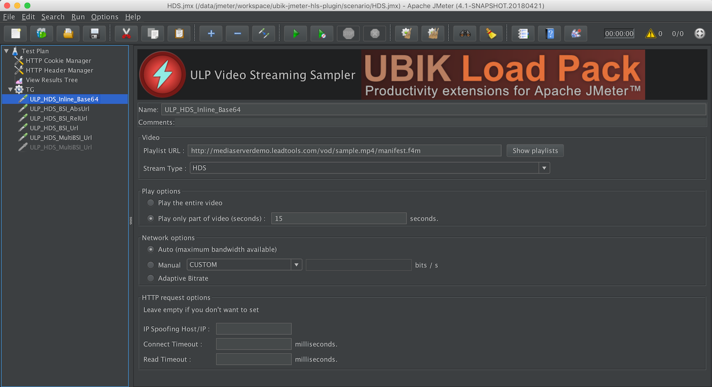 UbikLoadPack Video Sampler