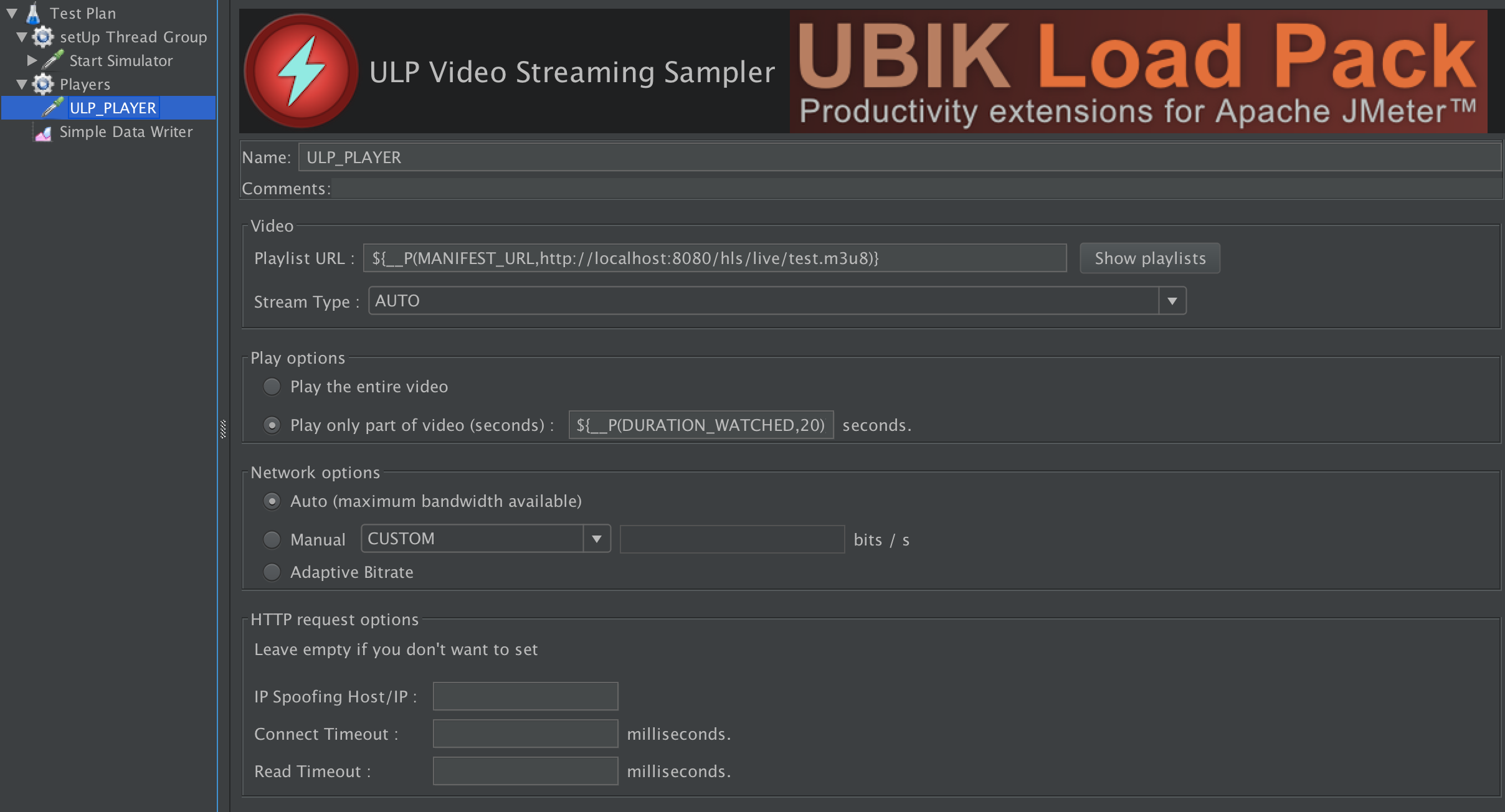 Running Video Streaming Load Test with Taurus, JMeter and